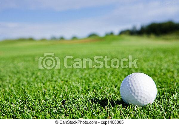 labda, golf - csp1408005