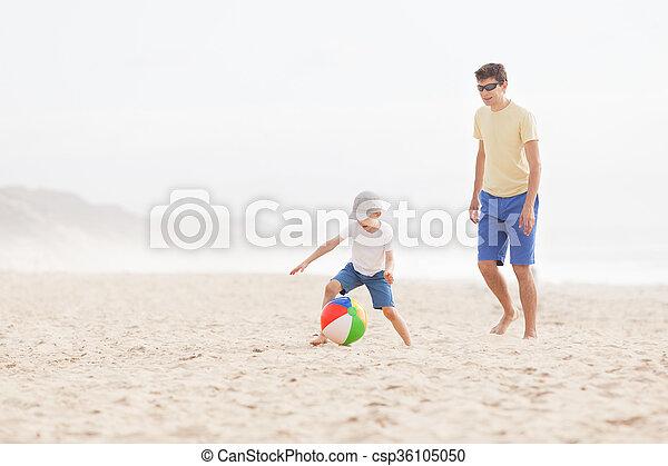 labda, játék, család - csp36105050
