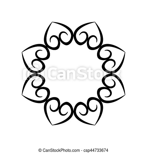 label decorative scroll element vector illustration eps 10 vectors rh canstockphoto co uk decorative corner scroll clip art free