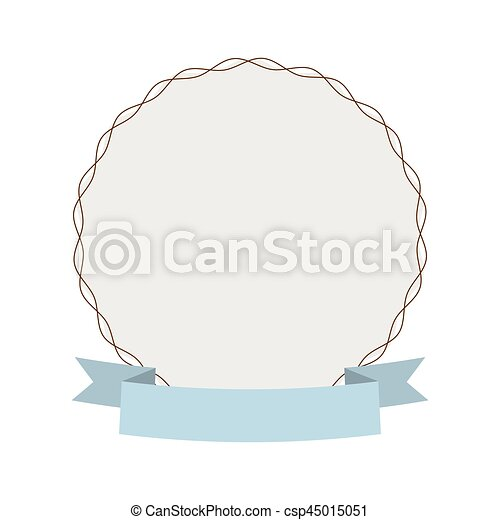 label round decoration ribbon - csp45015051