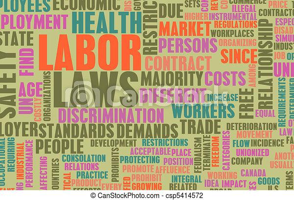 Labor Laws - csp5414572