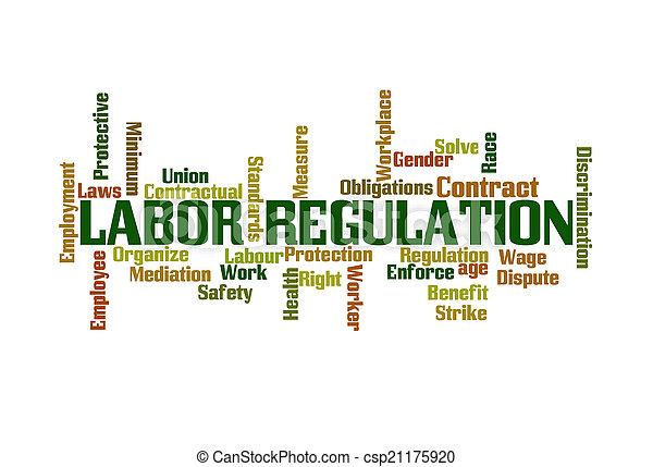 Labor Regulation  - csp21175920