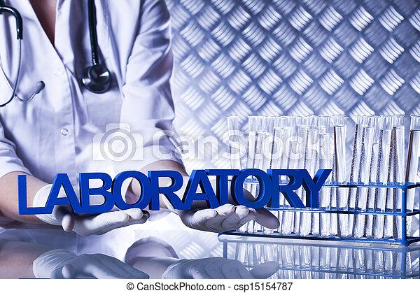 Laboratory equipment - csp15154787
