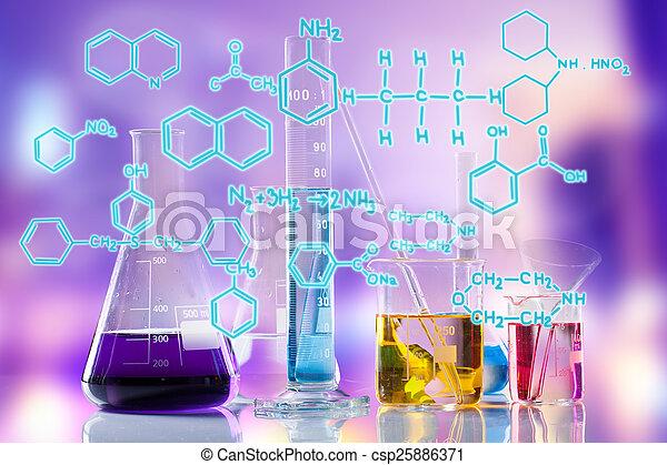 Laboratory tubes - csp25886371