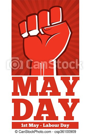 Labour Day Poster Template Vector Stock Of Labor Day Poster