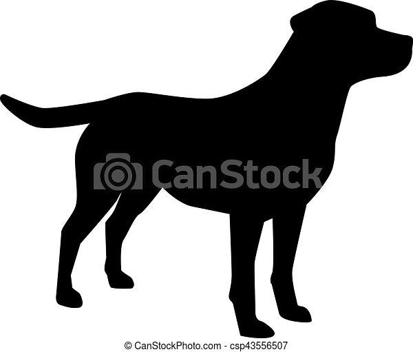 labrador retriever silhouette vector clipart search illustration rh canstockphoto com chocolate labrador retriever dog clipart labrador retriever clip art pictures