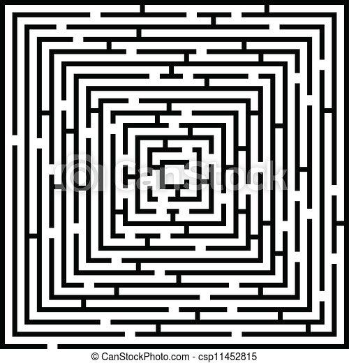 Labyrinthe complexe fond illustration - Labyrinthe dessin ...