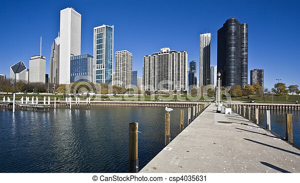 lac, chicago - csp4035631