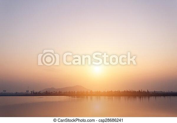 lac, vue - csp28686241