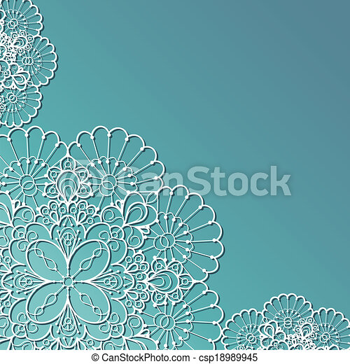 Lace background - csp18989945