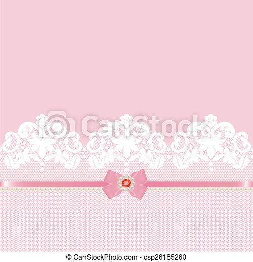 Lace border - csp26185260