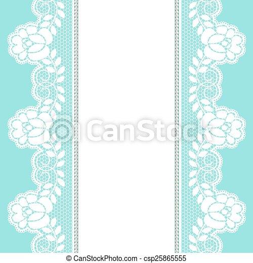 Lace border - csp25865555