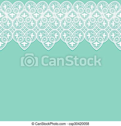 Lace border - csp30420058
