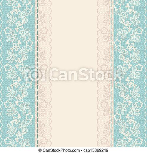 lace border - csp15869249