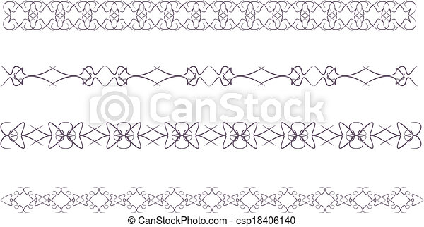 lace border - csp18406140