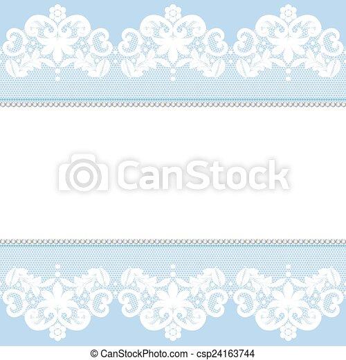 Lace border - csp24163744