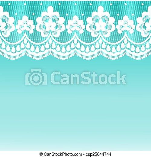 lace border - csp25644744