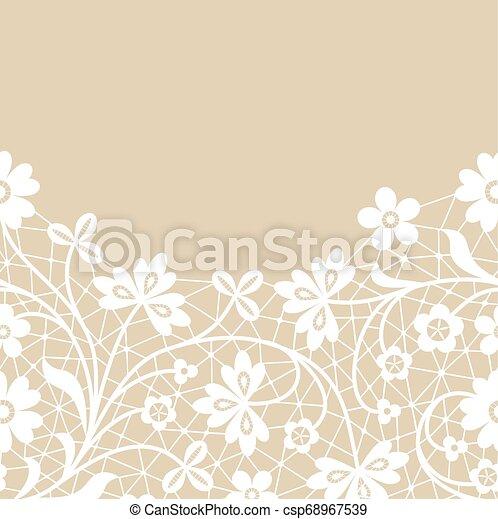 lace border - csp68967539