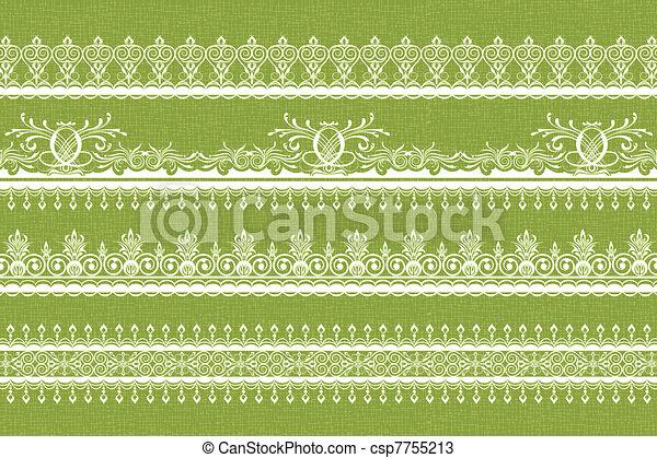Lace Border - csp7755213