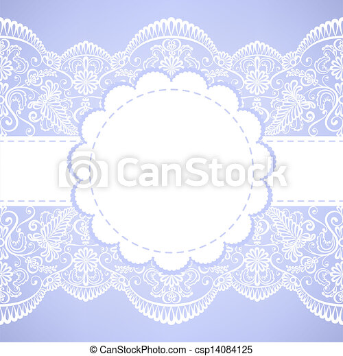 lace border - csp14084125