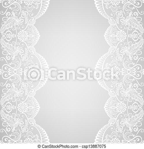 lace border - csp13887075