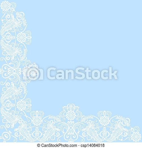 lace border - csp14084018