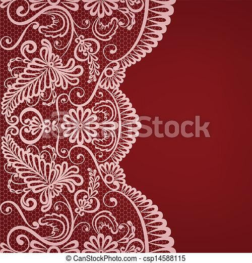 lace border - csp14588115