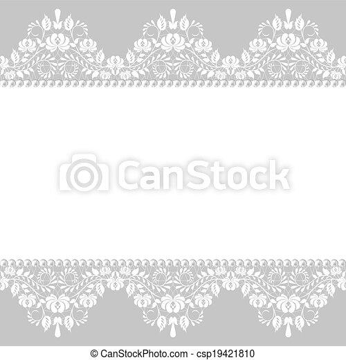 lace border - csp19421810
