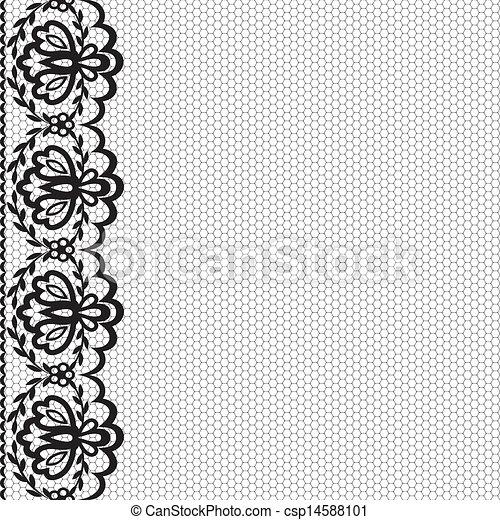 lace border - csp14588101
