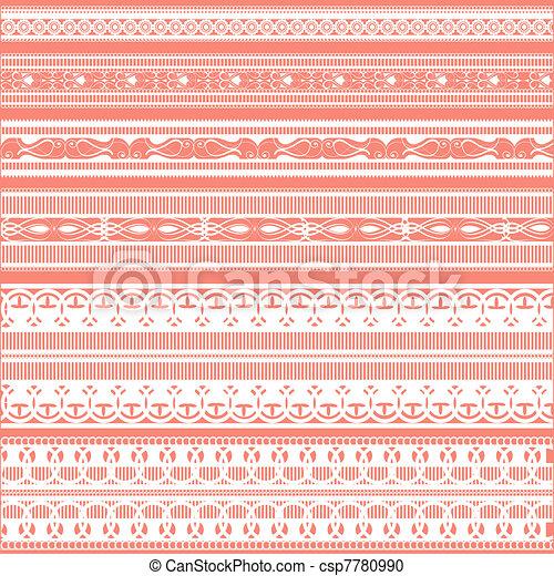 Lace Border - csp7780990