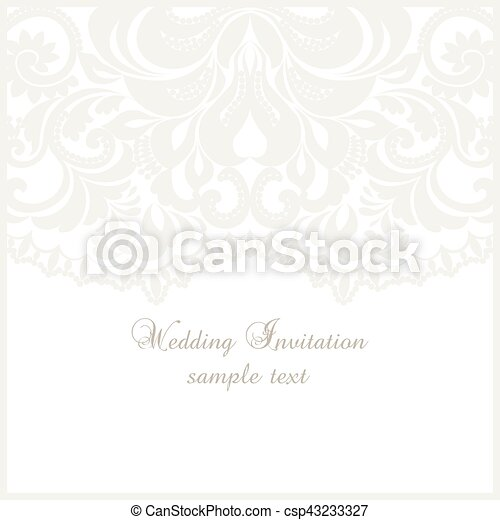 Lace Crochet Card Background