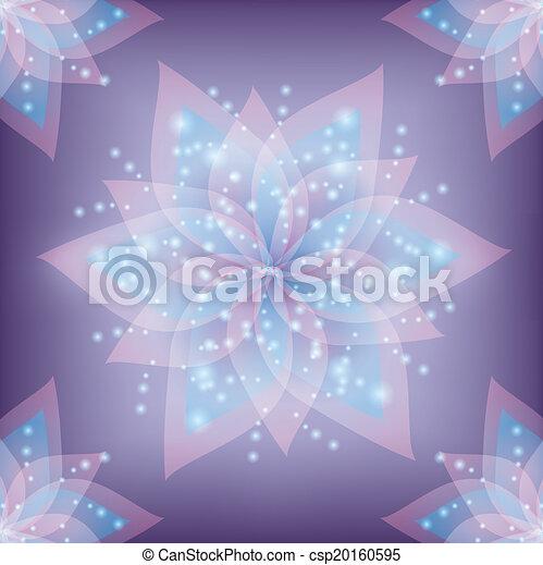 Lace floral decorative background - csp20160595