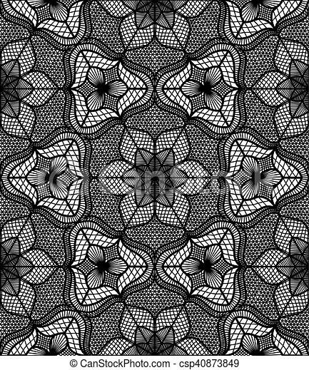 Lace flower pattern black white lace pattern flourish vector lace flower pattern black white csp40873849 mightylinksfo