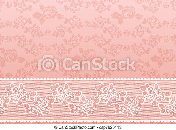 Lace Rose - csp7620113