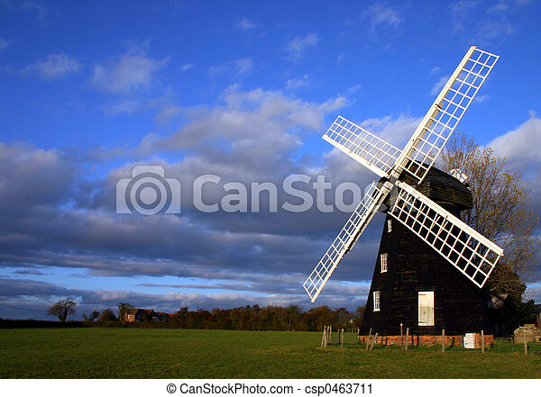 Lacey Green Windmill - csp0463711