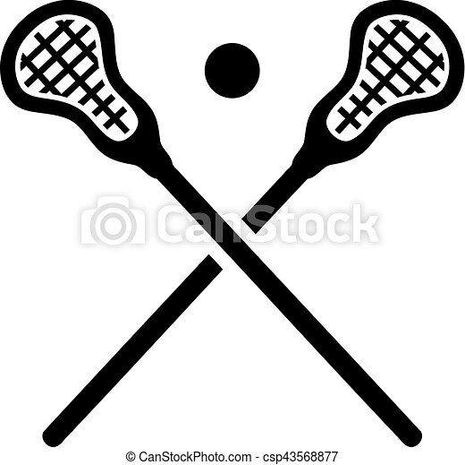 lacrosse, équipement - csp43568877