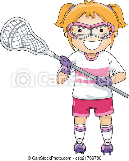 lacrosse girl illustration of a girl dressed in lacrosse breast cancer clip art google breast cancer clip art google
