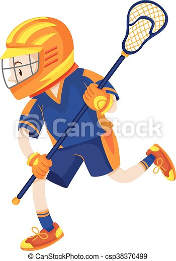 lacrosse player with net stick illustration eps vectors search rh canstockphoto com lacrosse clipart free lacrosse clipart and graphics