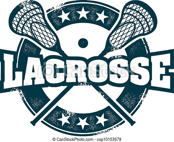 Lacrosse Sport Stamp - csp10153579