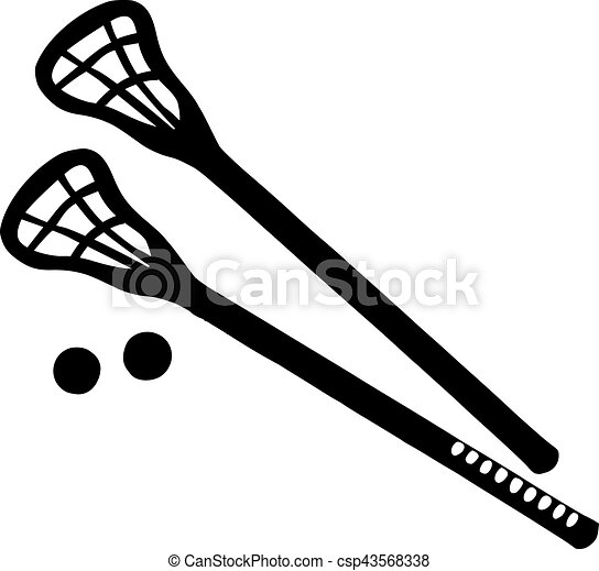 lacrosse sticks with balls rh canstockphoto com