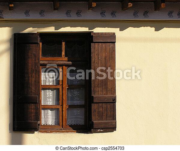 Lacy Window - csp2554703