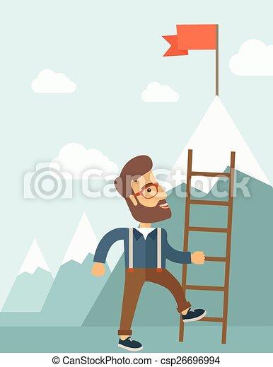 ladder., 人 - csp26696994