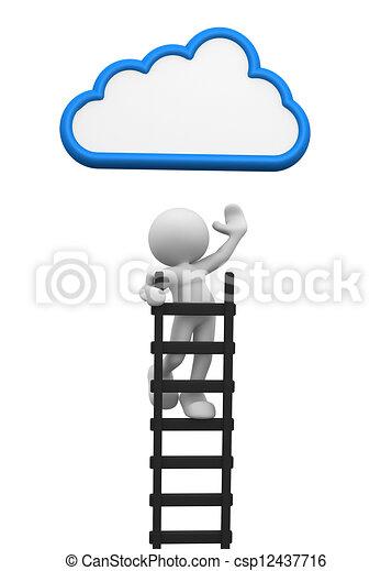 ladder - csp12437716