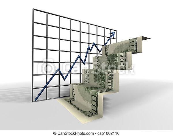 ladder, dollar - csp1002110