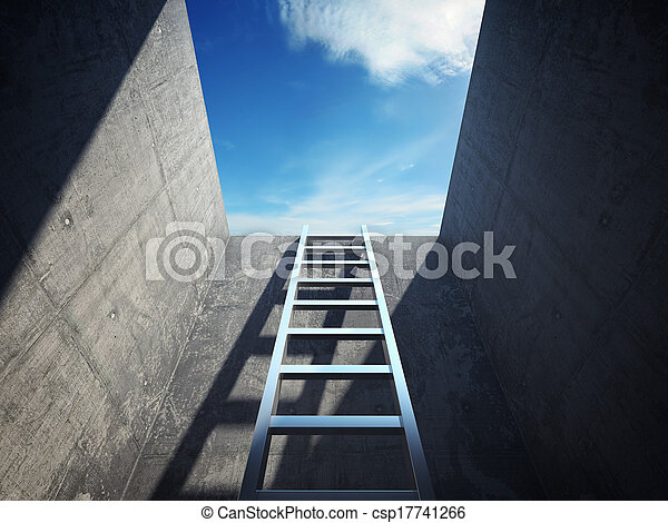 Ladder leading up - csp17741266