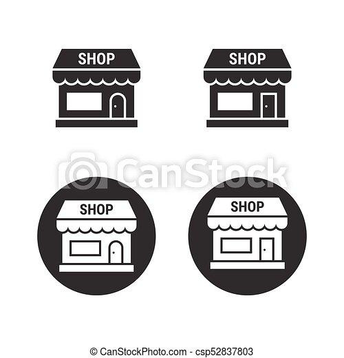 Laden, Laden-Icons eingestellt - csp52837803