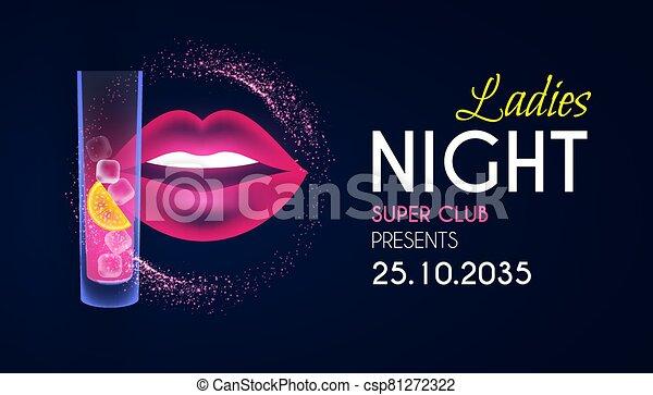 Night poster ladies Ladies Night