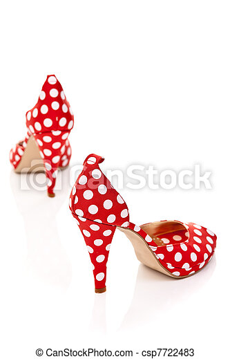 ladies shoes high heels - csp7722483