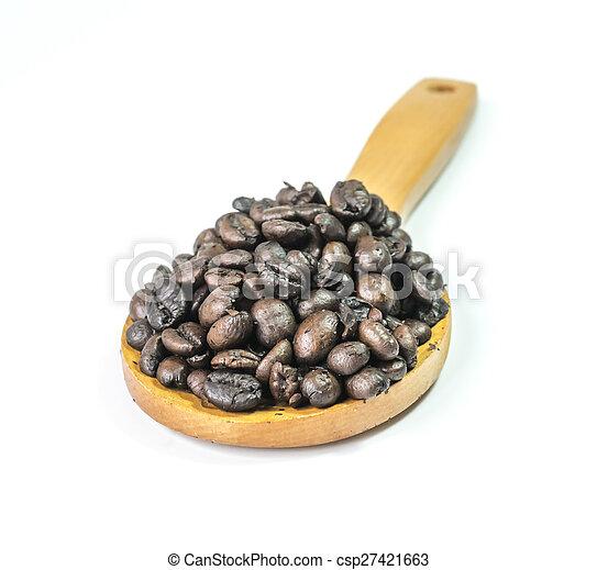 Ladle coffee - csp27421663