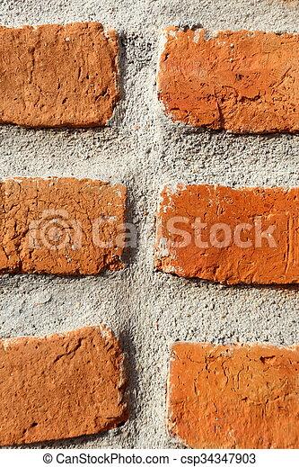 Brick - csp34347903